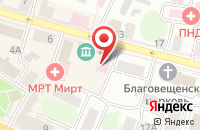 Схема проезда до компании Paradise в Астрахани