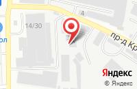Схема проезда до компании Росинсервис в Иваново