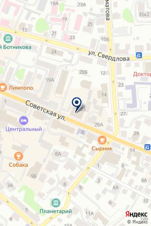 ОБЛАСТНОЙ ДОМ НАРОДНОГО ТВОРЧЕСТВА на карте Костромы