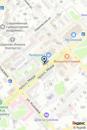 АДВОКАТСКОЕ БЮРО МАГИСТР на карте Костромы