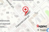 Схема проезда до компании Санлини в Костроме