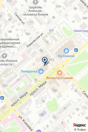 ЮРИДИЧЕСКАЯ ПОМОЩЬ на карте Костромы