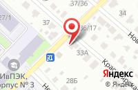 Схема проезда до компании Почтовое отделение №21 в Иваново