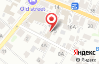 Схема проезда до компании Таширинвест-Кострома в Костроме