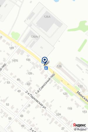 АЗС № 115 СИБНЕФТЬ-ЯРОСЛАВНЕФТЕПРОДУКТ на карте Иваново