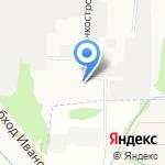 Волжанин на карте Иваново