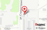 Схема проезда до компании СпецТехника Иваново в Иваново