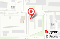 Схема проезда до компании Овен в Иваново