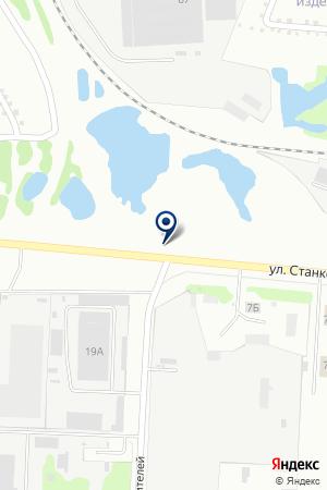 АЗС № 117 СИБНЕФТЬ-ЯРОСЛАВНЕФТЕПРОДУКТ на карте Иваново