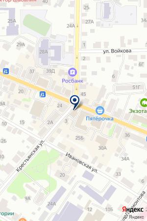 АНТИКВАРНЫЙ МАГАЗИН АТЛАНТ на карте Костромы