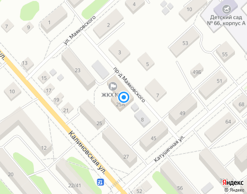 Управляющая компания «ЖКХ №1» на карте Костромы