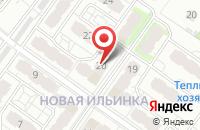 Схема проезда до компании Саюри в Иваново