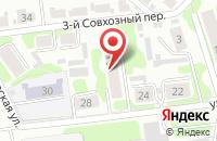 Схема проезда до компании Laser Print в Иваново