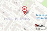 Схема проезда до компании Ильинка Спорт в Иваново