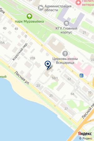 АДВОКАТСКАЯ ФИРМА ПРОБУС на карте Костромы