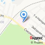 Гарнизонный военный госпиталь на карте Иваново