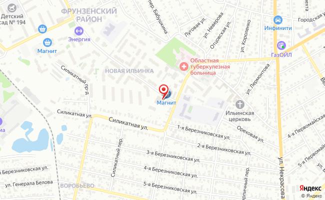 Карта расположения пункта доставки Халва в городе Иваново