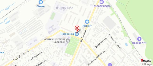 Карта расположения пункта доставки Халва в городе Кострома