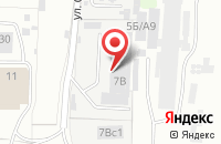 Схема проезда до компании Станок-1 в Иваново