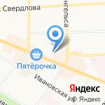 BERЁZKA на карте Костромы