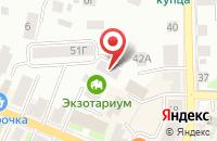 Схема проезда до компании Вершина в Давыдово