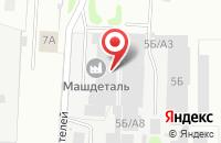 Схема проезда до компании Верона в Иваново