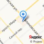 Книгоград на карте Костромы