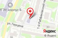 Схема проезда до компании Детский сад №20 в Иваново