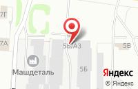 Схема проезда до компании Техснаб в Иваново