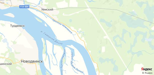 Большие Карелы на карте