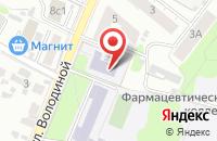 Схема проезда до компании Детская музыкальная школа №1 в Иваново