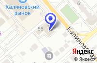 Схема проезда до компании Доступные окна в Костроме