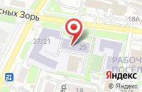 Схема проезда до компании ИвГПУ в Иваново