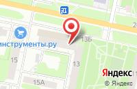 Схема проезда до компании Сервис37 в Иваново