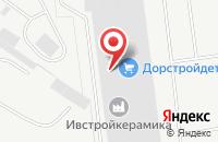 Схема проезда до компании Спецдорстрой в Иваново