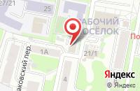 Схема проезда до компании Теплоклимат в Иваново
