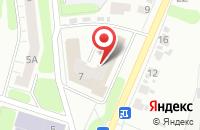 Схема проезда до компании Долголет в Иваново