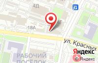 Схема проезда до компании Юнит в Иваново