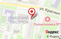 Схема проезда до компании Билайн в Иваново