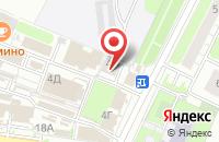 Схема проезда до компании ТриколорТВ в Иваново