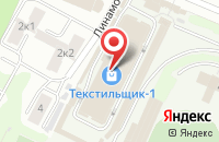 Схема проезда до компании ГлавГобеленСнаб в Иваново