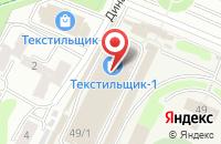 Схема проезда до компании ТК ФаСаТекс в Иваново