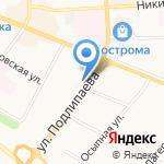Лакомка на карте Костромы