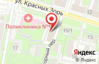 Схема проезда до компании Респект в Иваново