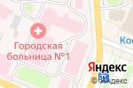 Схема проезда до компании Городская больница г. Костромы в Костроме