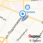 Билайн на карте Костромы