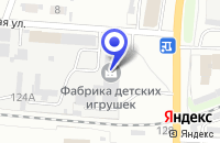 Схема проезда до компании ТК ОМЕГА в Иваново