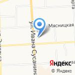 АвтоПомощь+44 на карте Костромы