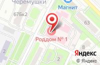 Схема проезда до компании Родильный дом №1 в Иваново