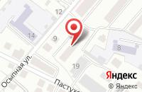 Схема проезда до компании Мостинвест в Костроме